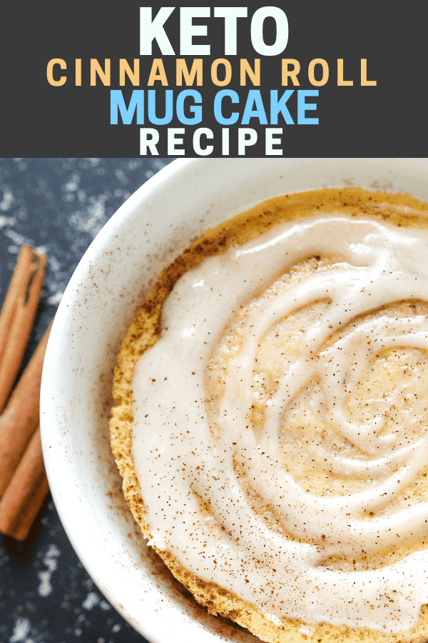 Keto mug cake recipe