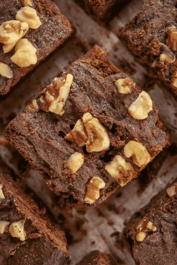 Easy Fudgy Low Carb Keto Brownies - SO EASY!