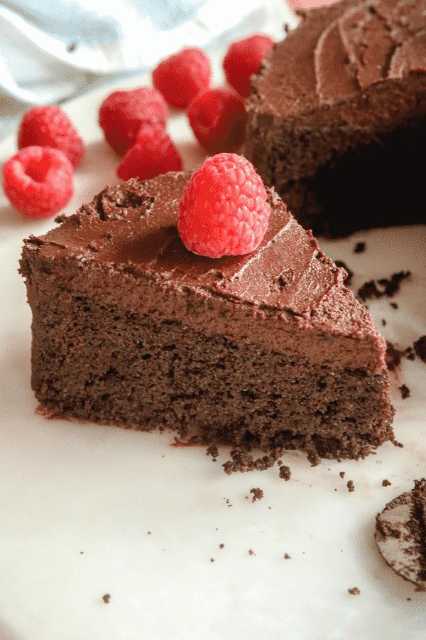 Keto Cake! Flourless, Low Carb, Gluten Free Chocolate Cake For Keto!