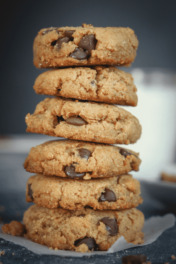 Keto Cookies! The BEST Peanut Butter Chocolate Chip Cookies, and SO EASY too