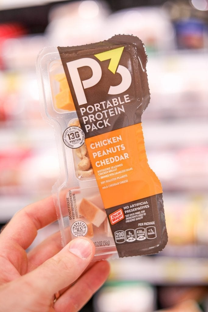 One of the BEST Keto Snack Ideas is these P3 Low Carb Snack Packs!