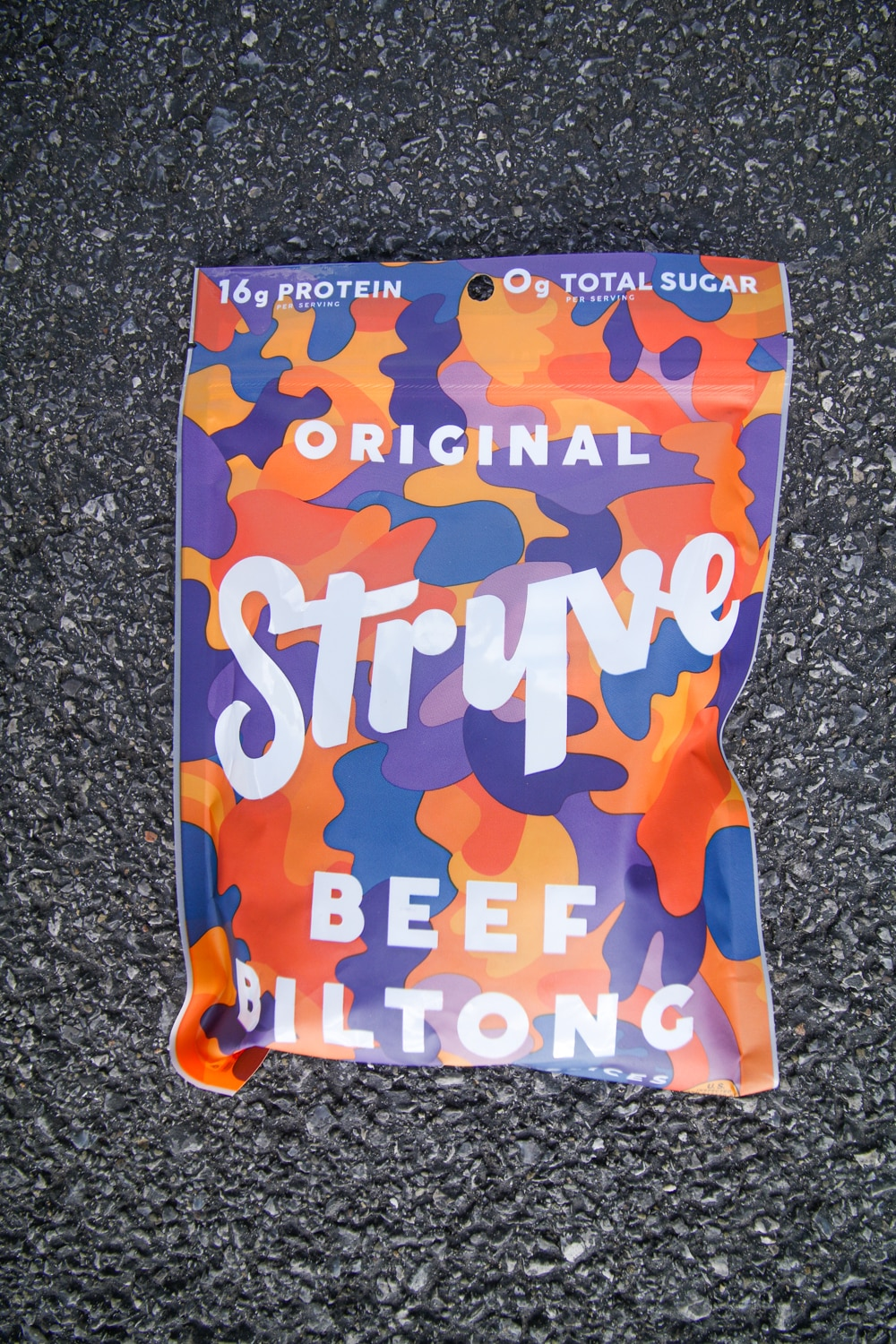 A package of biltong.