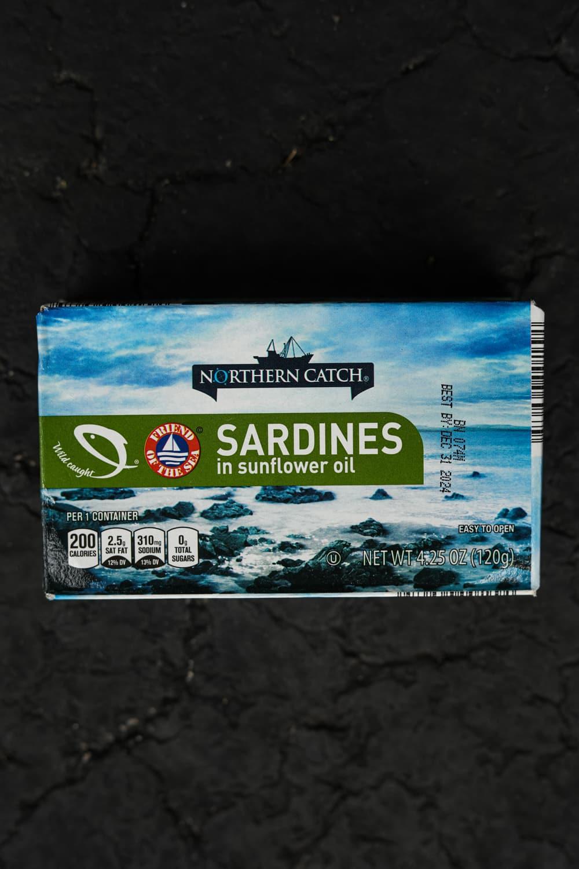A box of sardines.