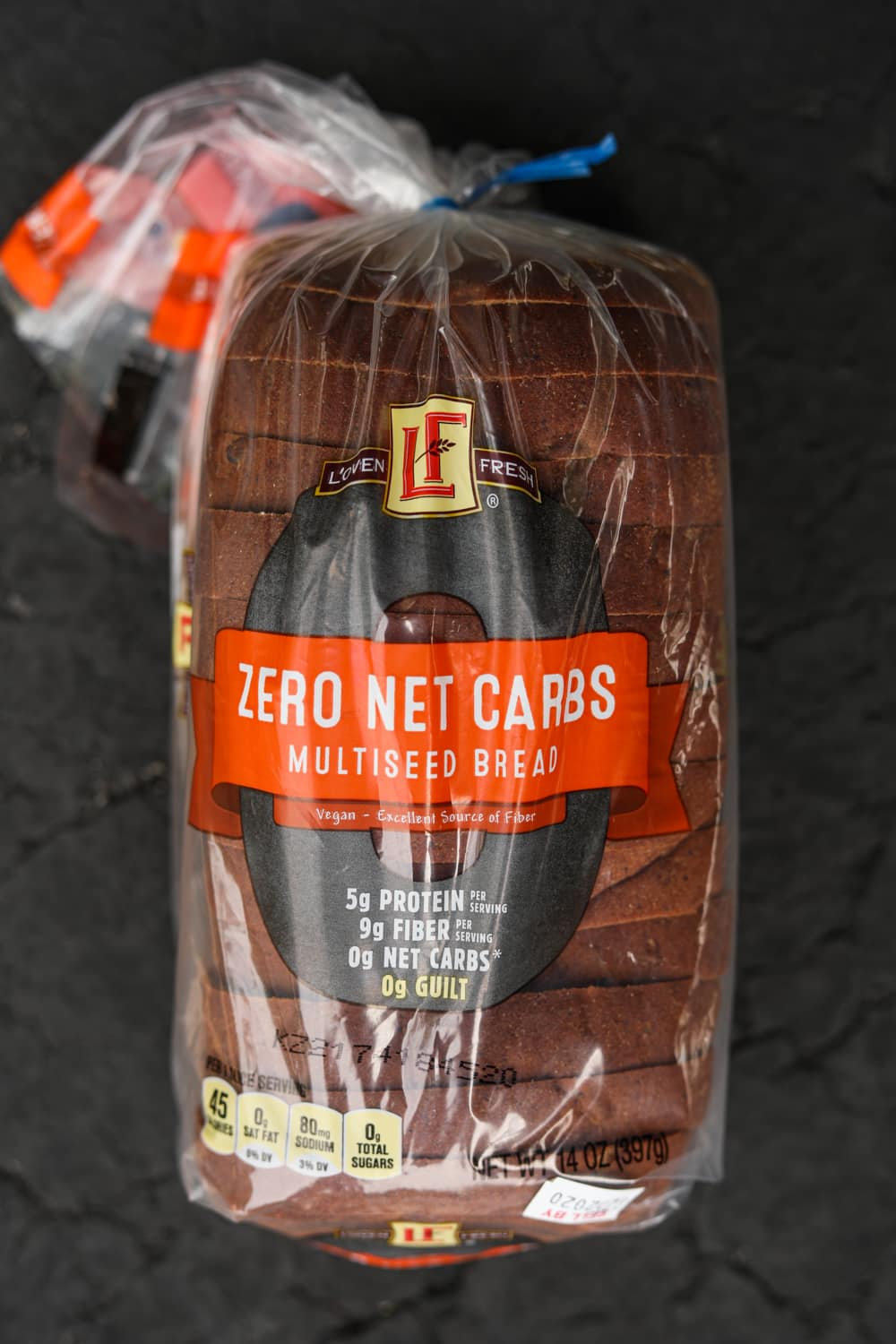 A loaf of multiseed bread.