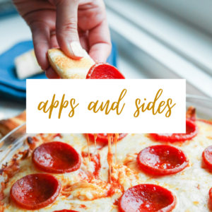 Keto Appetizers & Side Dishes